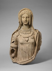 Statue of a Young Woman, Italic, c. 300 BC, Metropolitan Museum of Art